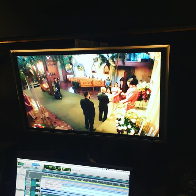 Putting up live cams from Las Vegas Elvis wedding chapels in the control room is my new jam.