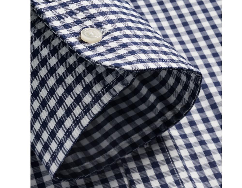 Stand Dress Shirt Detail