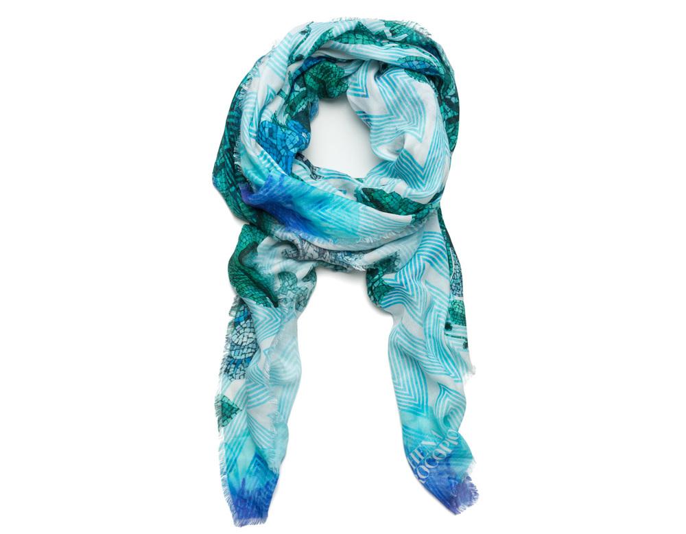 Athena Procopiou styled scarf