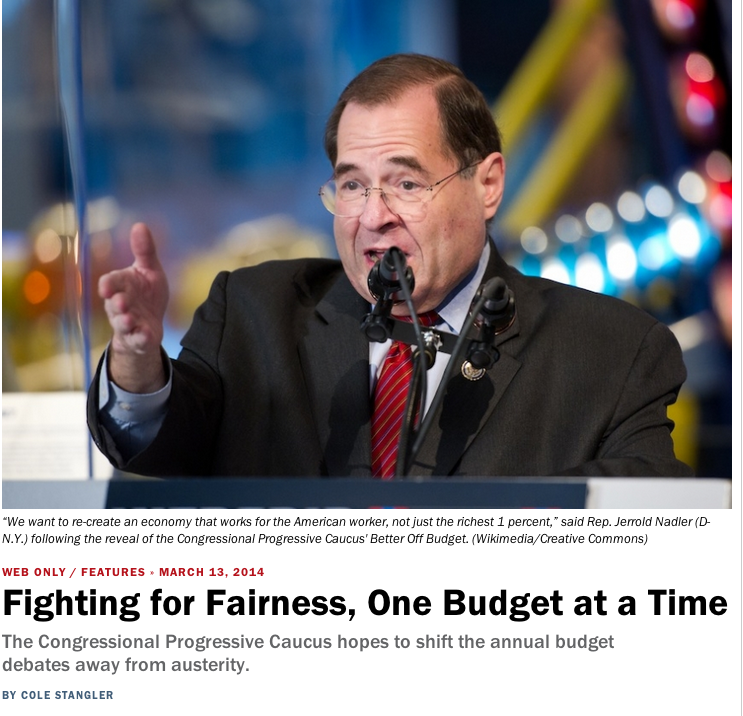 Fighting For Fairness, One Budget At A Time - Cole Standgler Inthesetimes.com