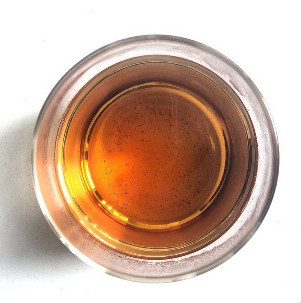 Sip on a cup of chaga tea before you meditate to improve clarity and focus