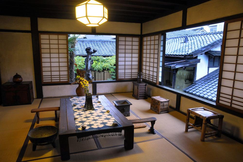 Interior of Kanjiro Kawai's house
