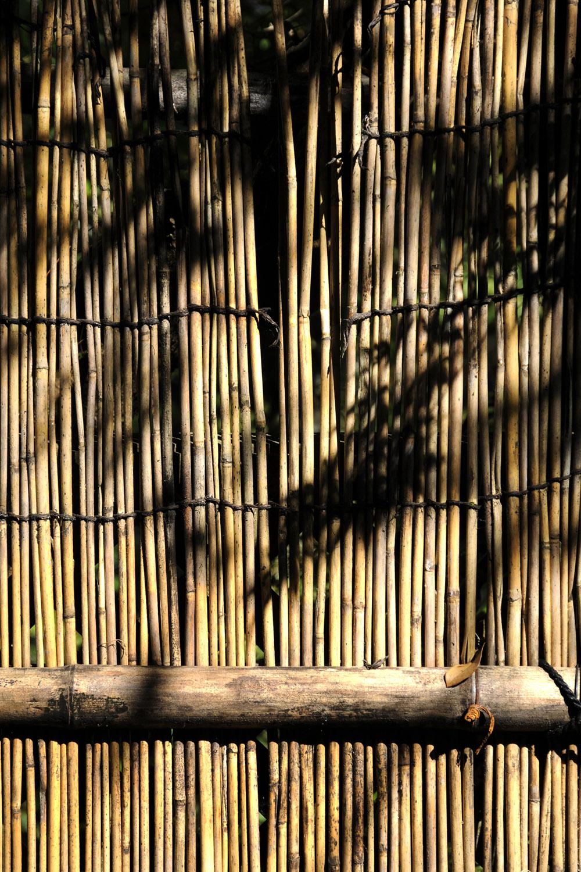 Bamboo fence in Kibune