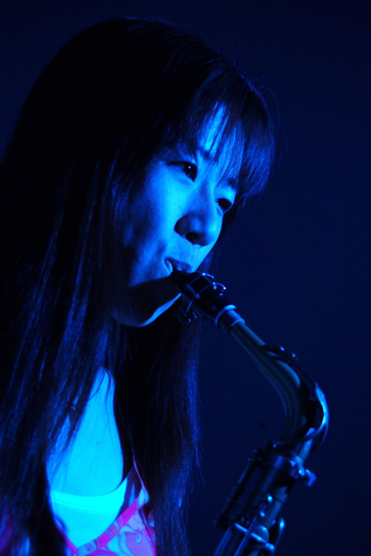 Jazz saxophonist Rika Shimizu