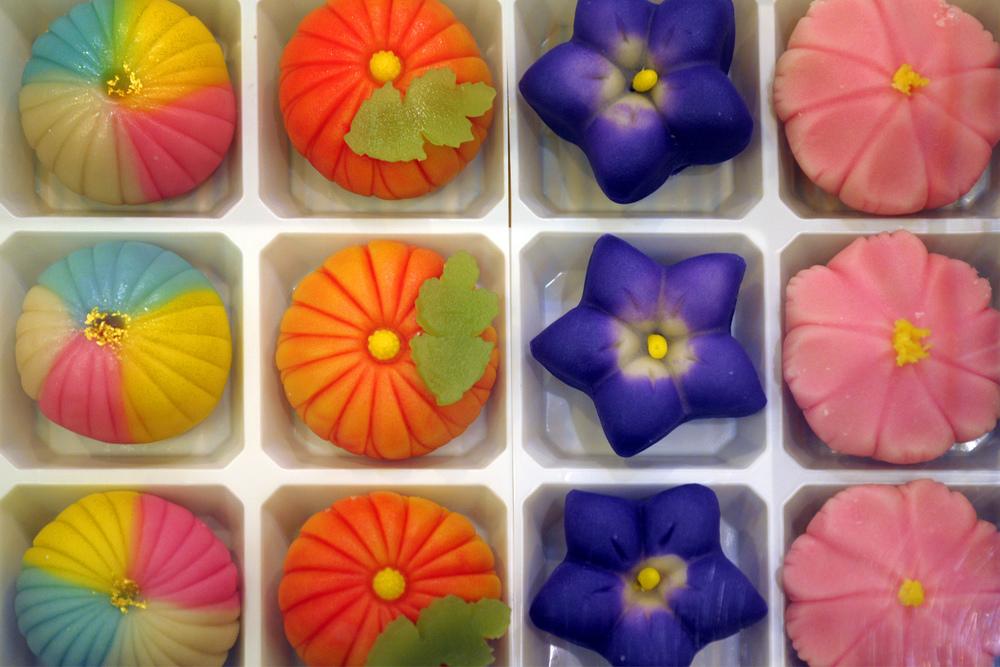 Sweets in Nishiki street market