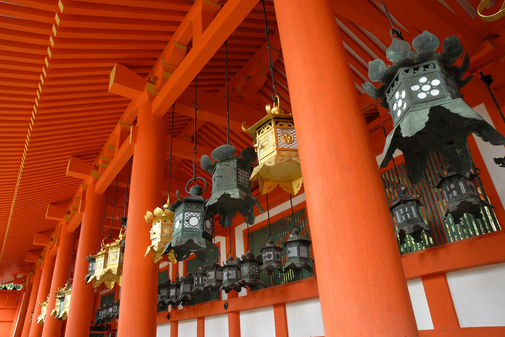 Lanterns at Kasuga Taisha Shrine Nara