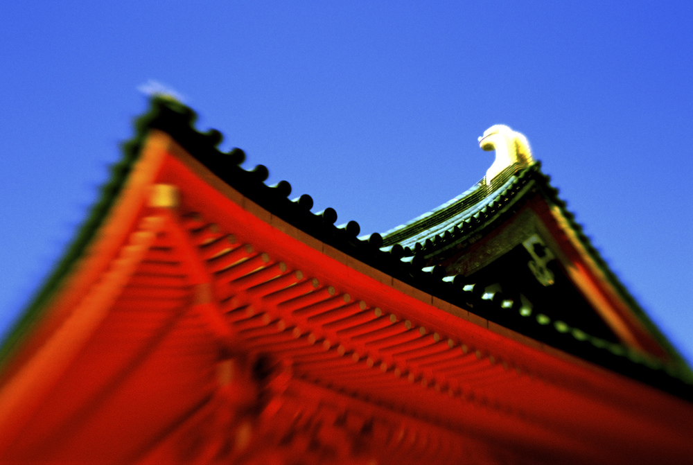 Heian Shrine roof image