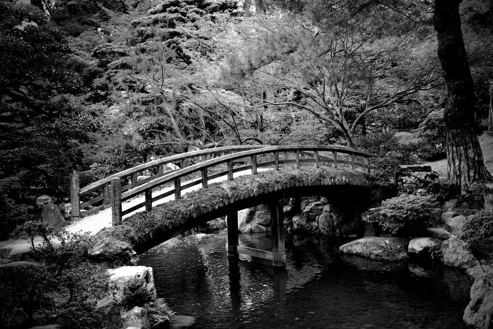 Imperial Palace Garden bridge
