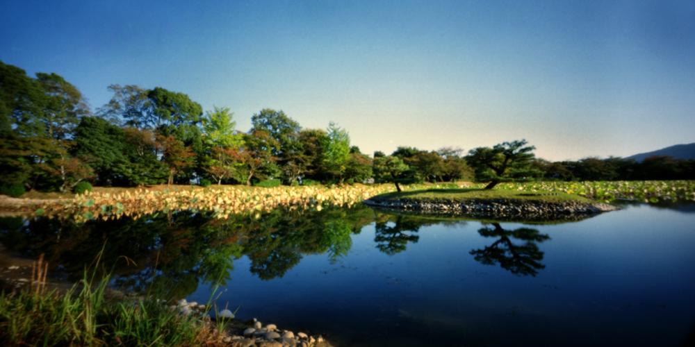 Osawa Pond, Areashiyama