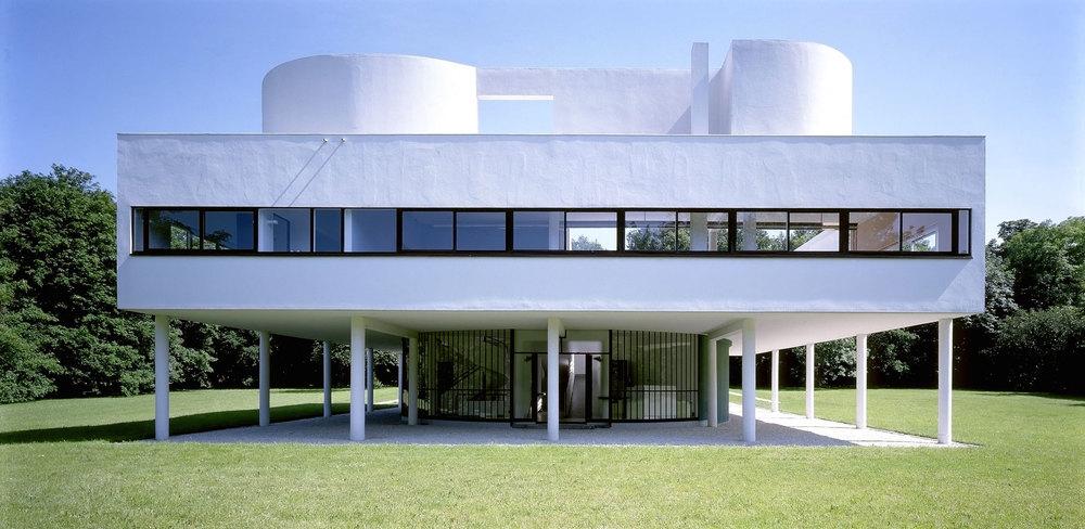 Villa Savoye, Le Corbusier, Poissy, France