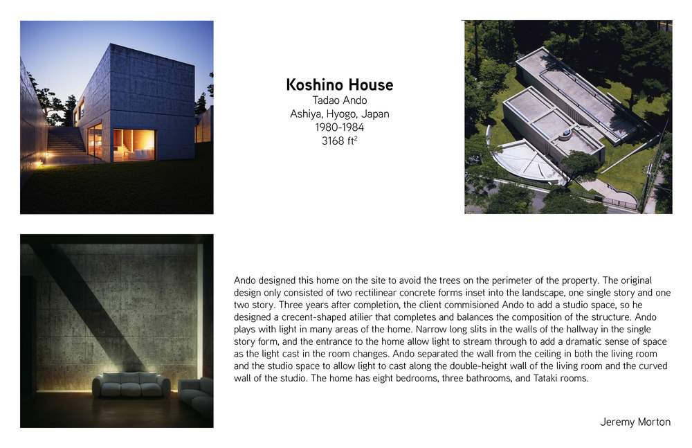 Koshino House Title