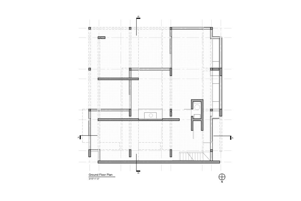 House II Ground Floor Plan