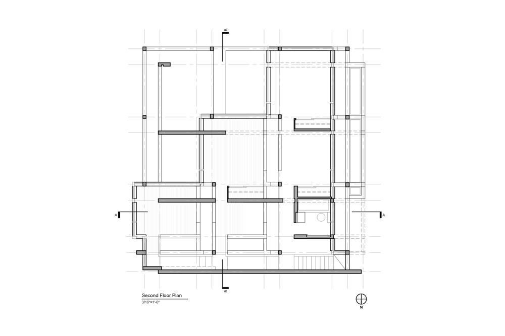 House II Second Floor Plan