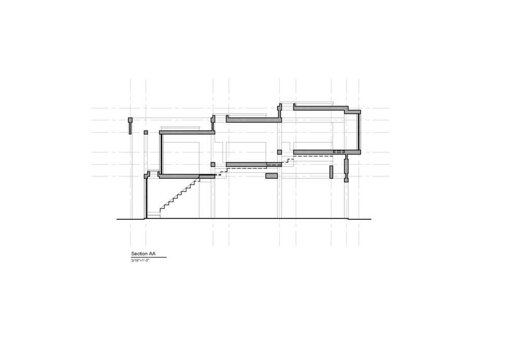 House II Section AA