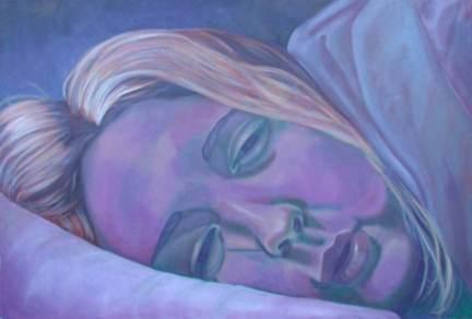 Katie, 4x6', oil on canvas, 2000