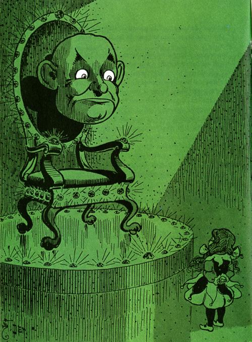 W. W. Denslow, the original illustrator for Baum's books