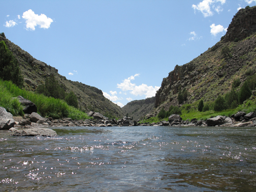 Rio Grand Gorge at Wild Rivers