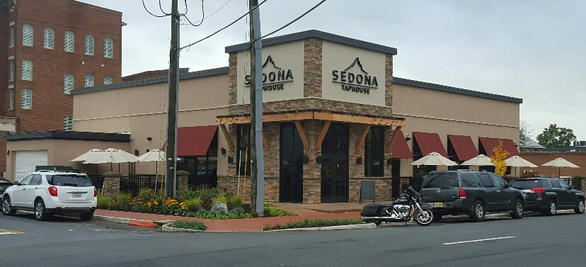 Architect for the new Sedona Taphouse / restaurant (5000 sf) at Amelia Square in Fredericksburg, VA.