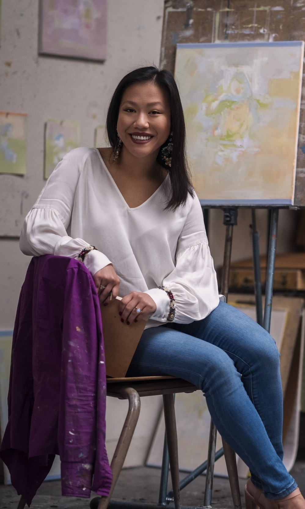 ROSE MARIE LAU - Rose Marie Lau is from Meridian, Mississippi.  She is currently pursuing her B.F.A. in Drawing and Painting with a minor in Art History at the University of Southern. She has been an intern for The Meridian Museum of Art and The Lauren Rogers Museum of Art. She has also worked for the university's Art and Design Gallery and the Office of Art and Design. Her focus is to spread, educate, and preserve the importance of art and the joys it can bring. She will continue her studies in Rome, Italy at The Rome Art Program over the summer.