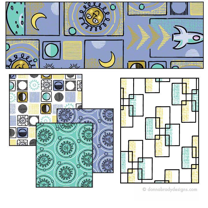Cosmic Mosaic Coordinates