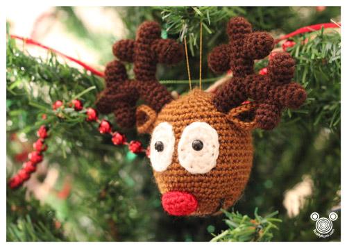 Rudy Reindeer Amigurumi : Rudolph Christmas Reindeer Free Pattern BuddyRumi