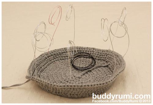 Tototo cat house amigurumi crochet