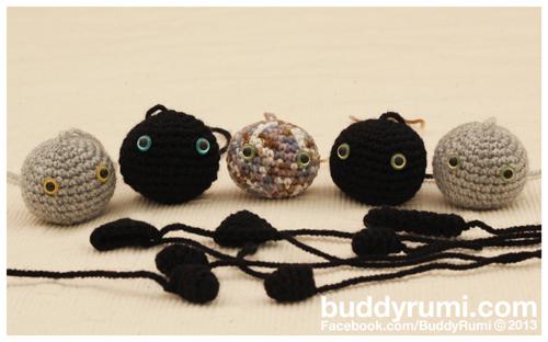 Kitty keyring keychain amigurumi crochet