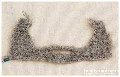 Amigurumi beard crochet