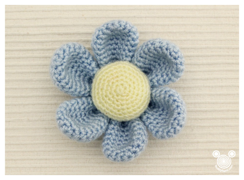 Amigurumi Flower Free Pattern : In my Project Bag BuddyRumi