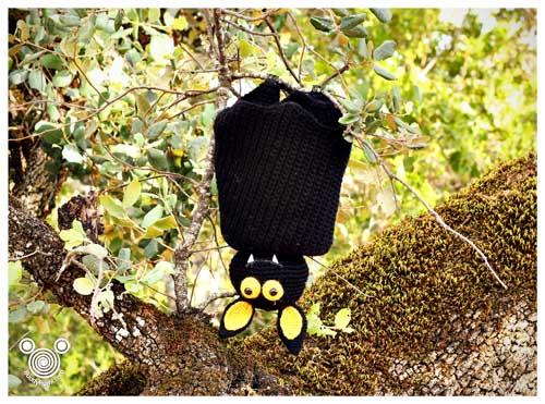 Crochet amigurumi bat