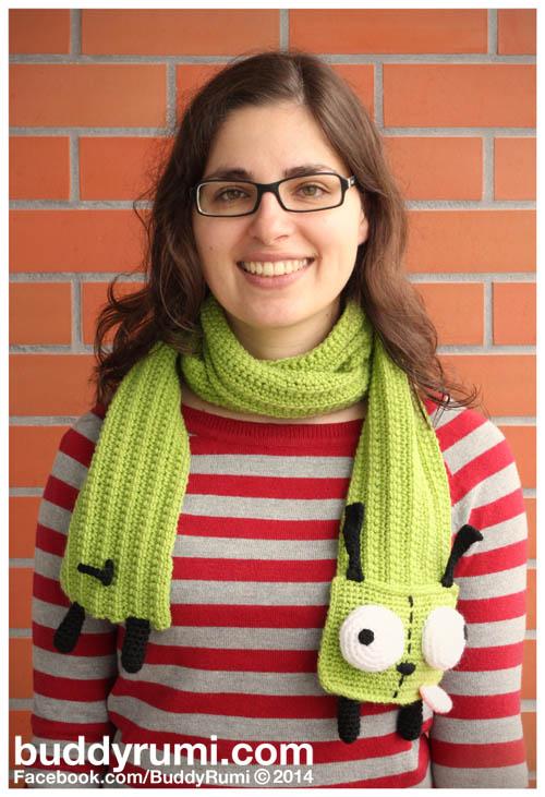 Crochet Gir scarf