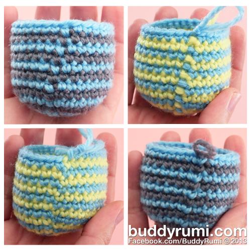 Amigurumi Stripes Tutorial : How to... Make Perfect Stripes BuddyRumi