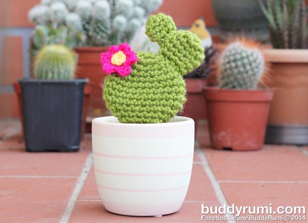 Crochet Opuntia Cactus