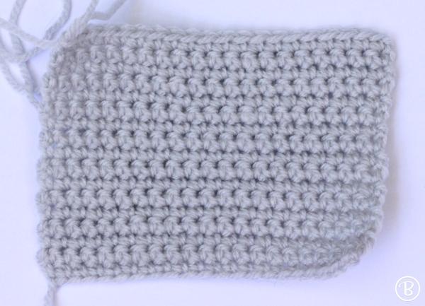 Vampire crochet wallet