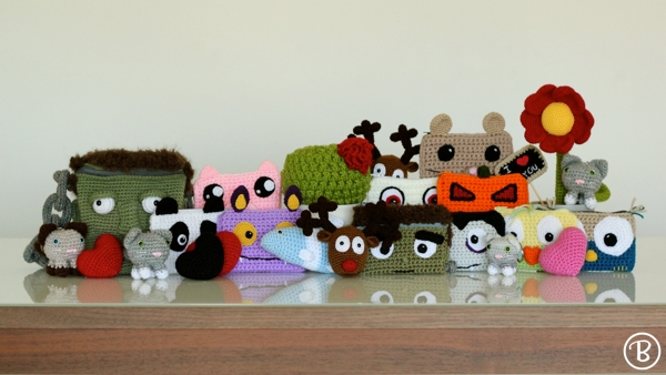 Amigurumi for the World Amigurumi Exhibition 2015