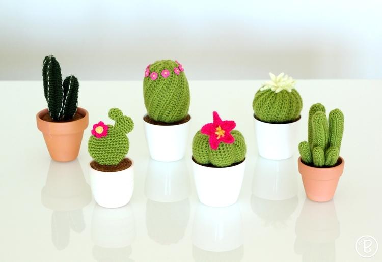Amigurumi Cactus Crochet Pattern : Amigurumi pattern: gardening with crochet u2014 buddyrumi