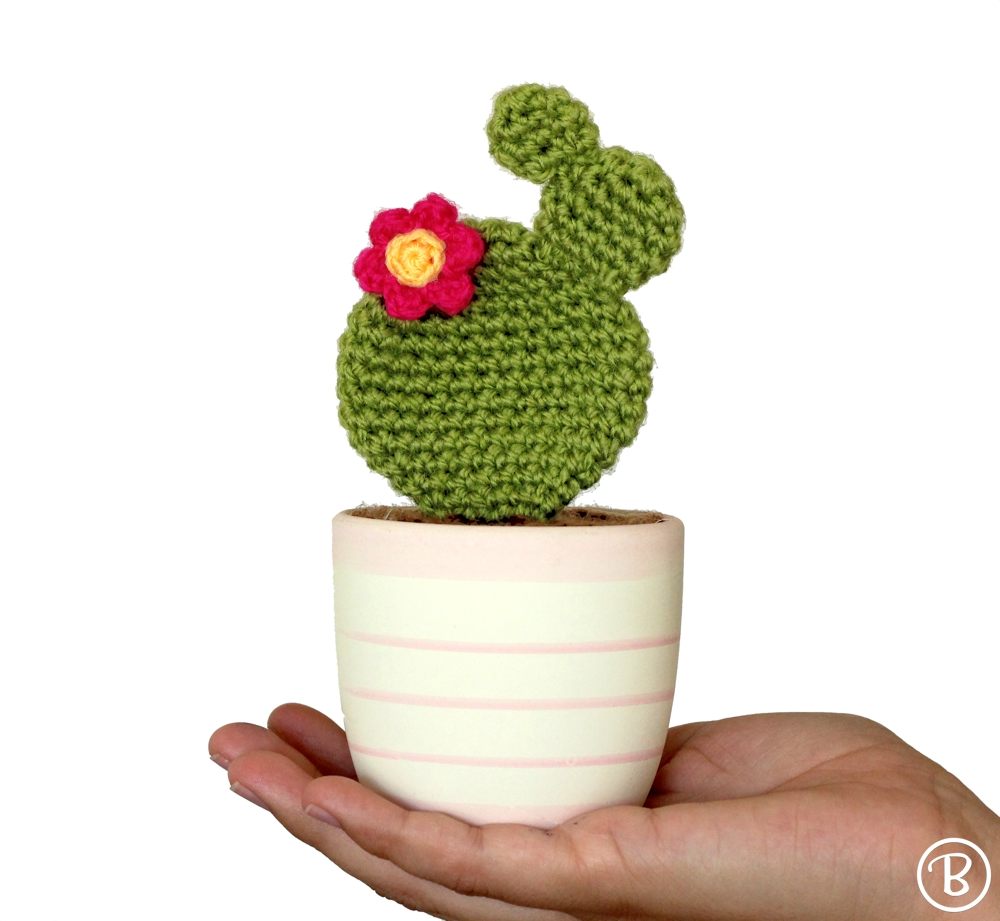 Crochet prickly pear pattern
