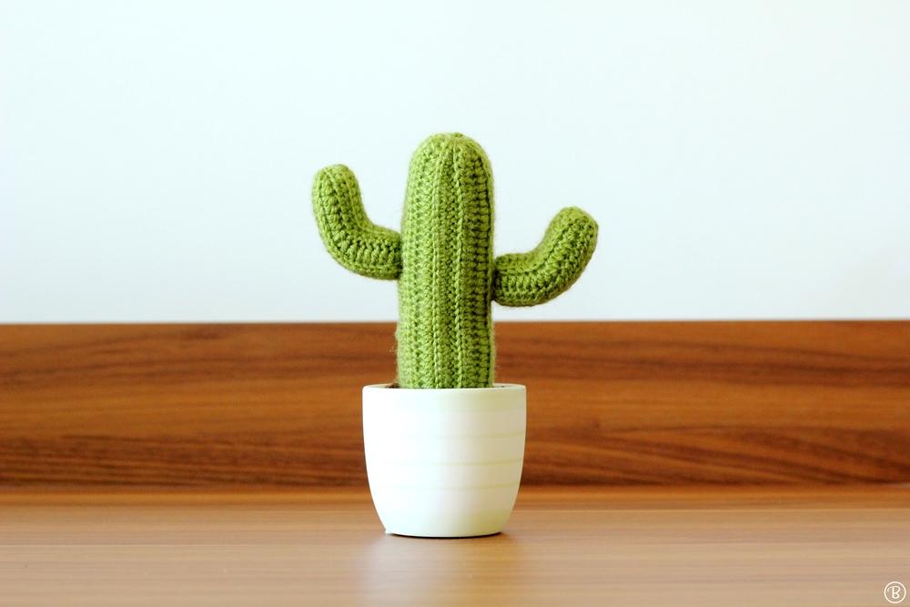 Amigurumi Saguaro cactus