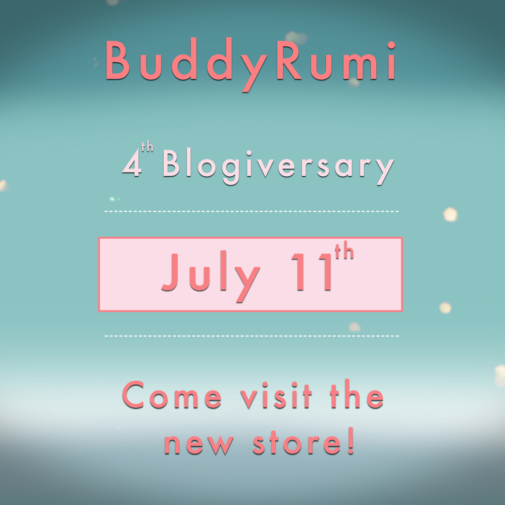BuddyRumi's amigurumi blogiversary
