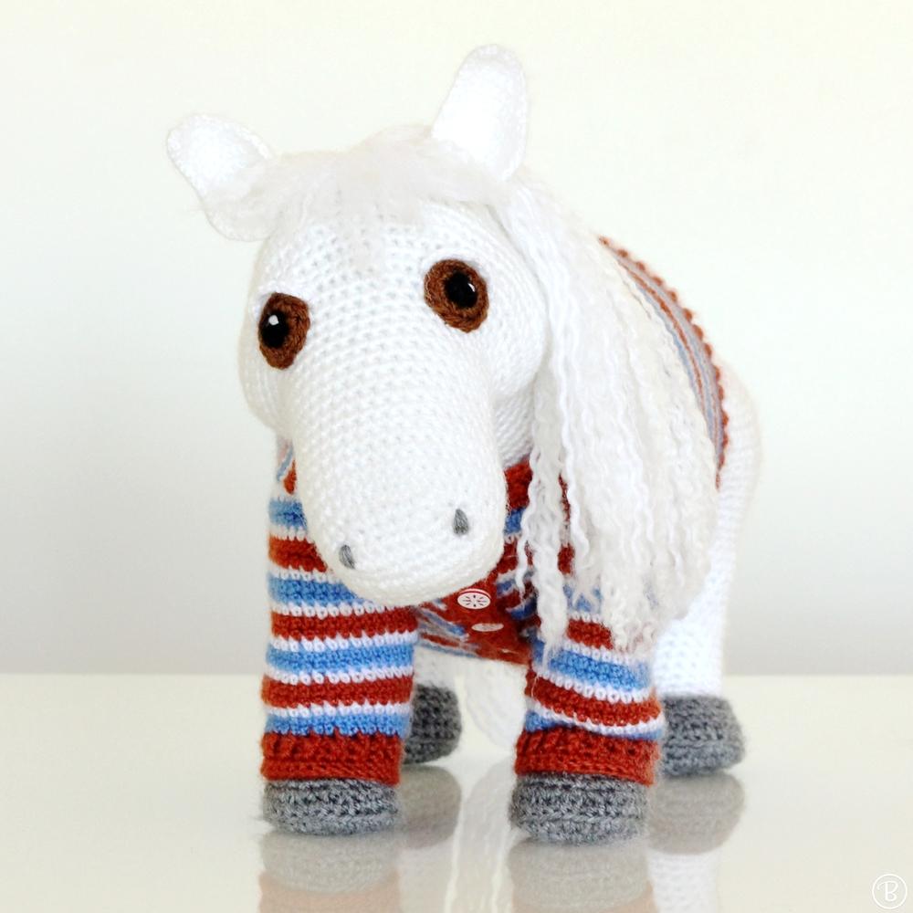 Amigurumi Pattern: Shetland Pony BuddyRumi