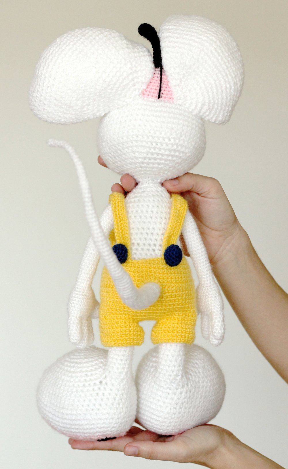 Crochet mouse pattern