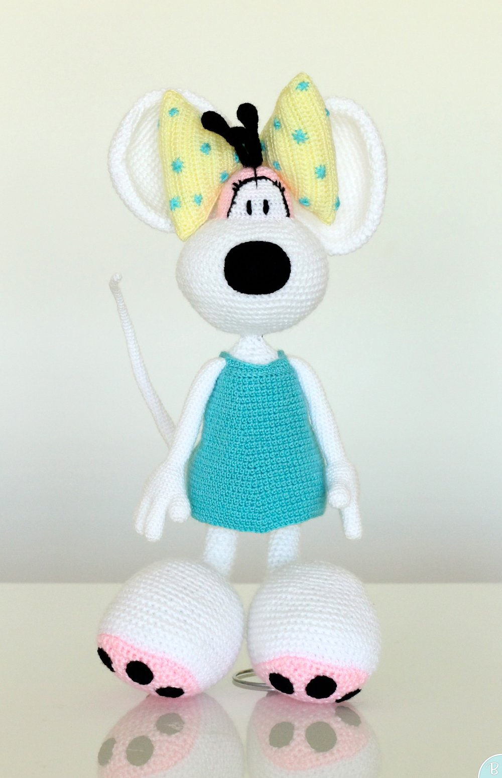 Diddlina amigurumi stuffed toy