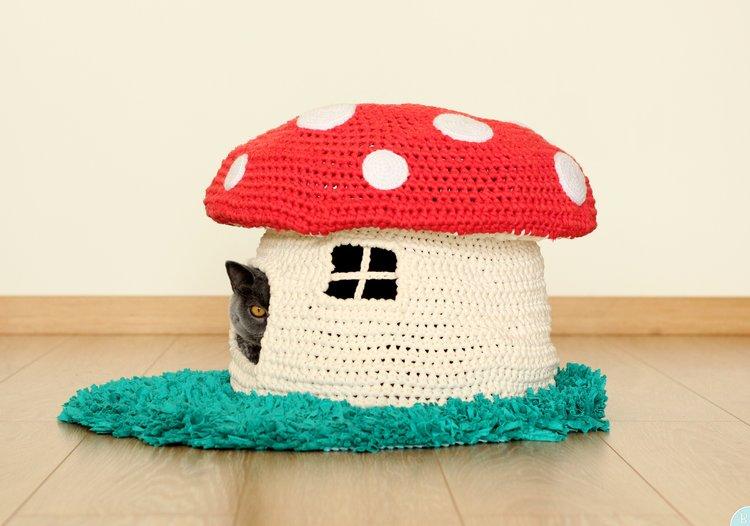 Pet House Pattern Into The Woodland Buddyrumi