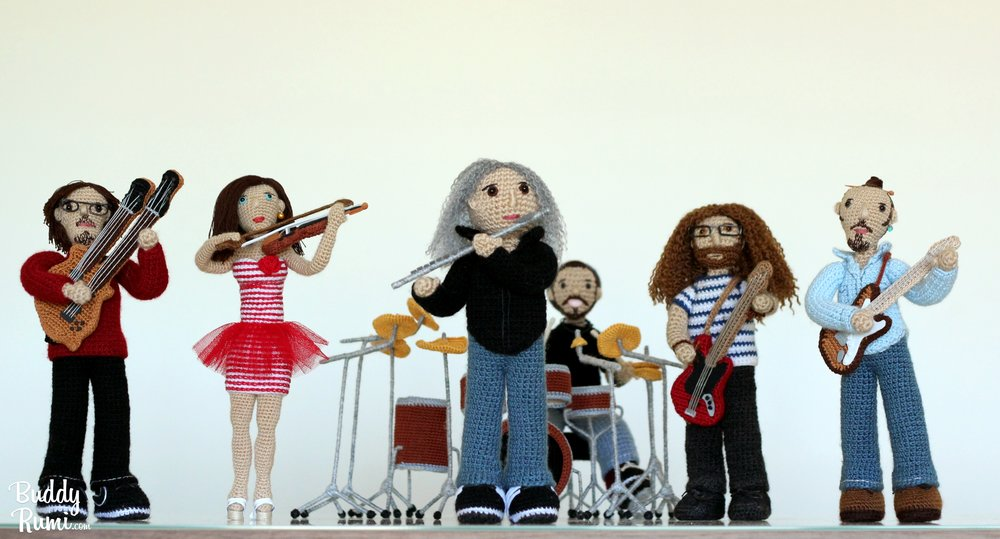 Amigurumi band