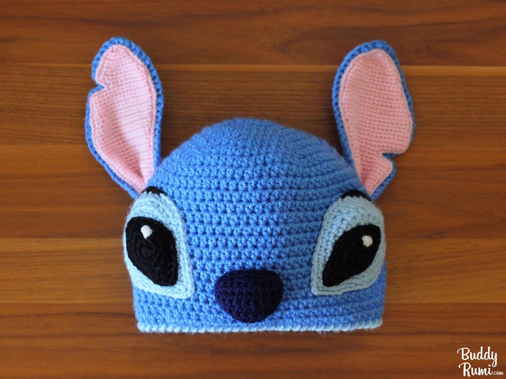 Lilo and Stitch crochet hat