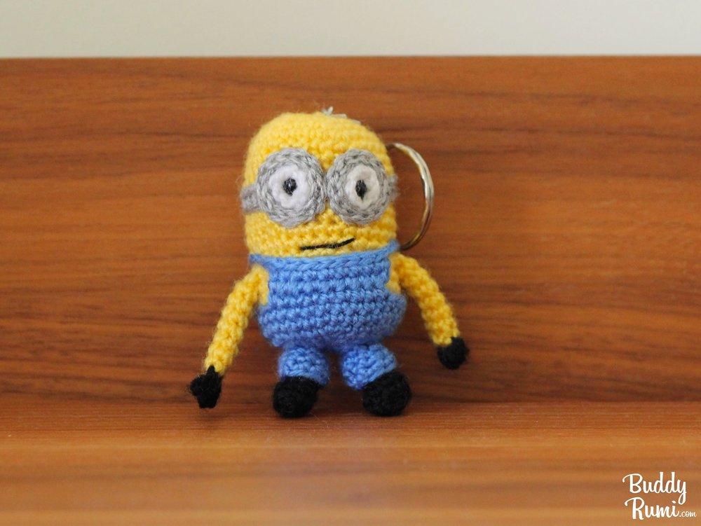 Amigurumi crochet Minion