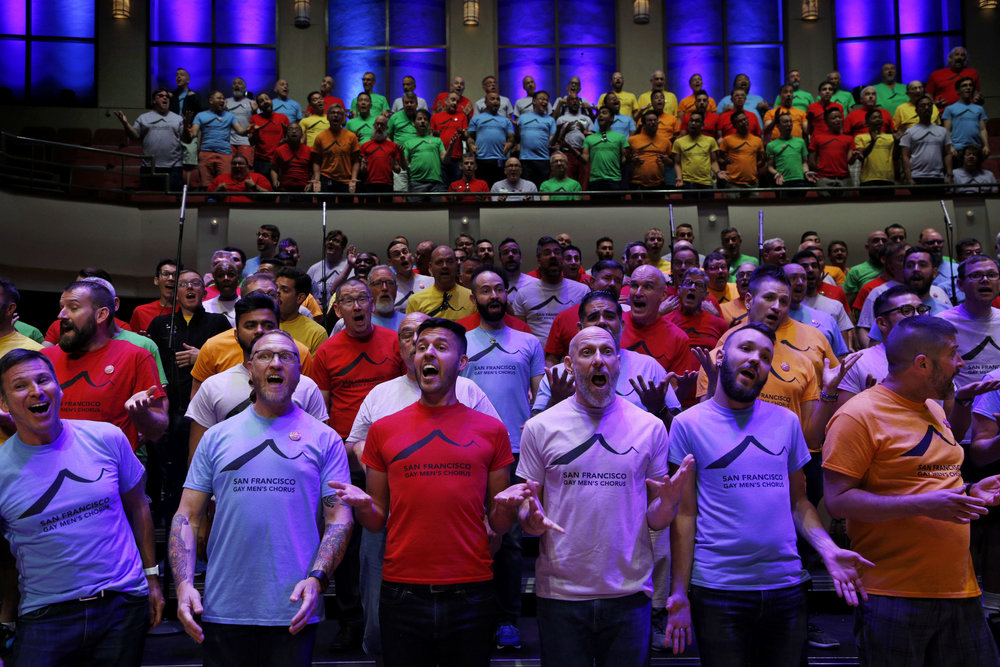 The California Sunday Magazine   Busing through the Deep South with the San Francisco Gay Men's Chorus