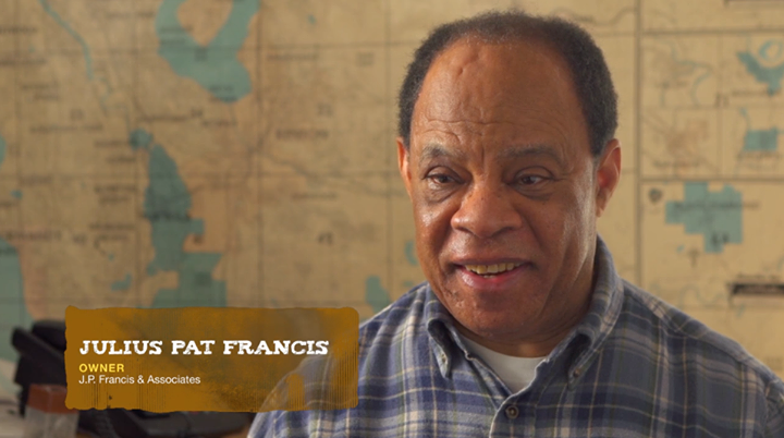 Pat Francis, from Craft3's marketing video J.P. Francis & Associates: Building the Future