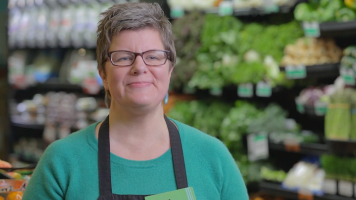 Lisa Sedlar, from Craft3's marketing video Green Zebra Grocery: Cultivating a Healthy Community