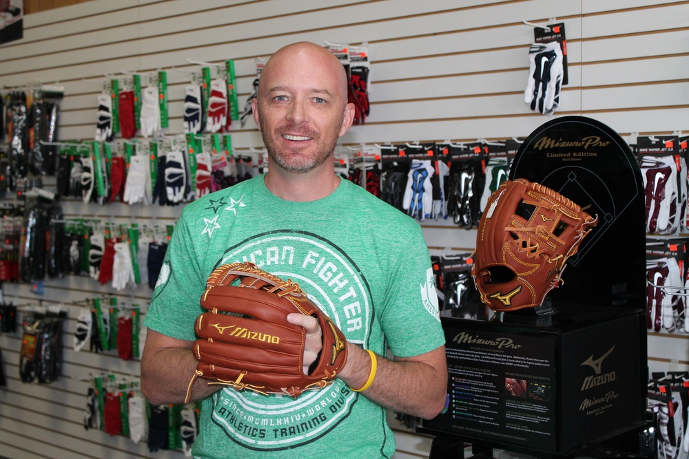 Pictured: Scott Ringger was a pitcher and centerfielder for the Payson High School Lions back in 1991.  Today he is the owner of MVP Sports in Spanish Fork.  See complete story in the June 18, 2014, edition of The Payson Chronicle.